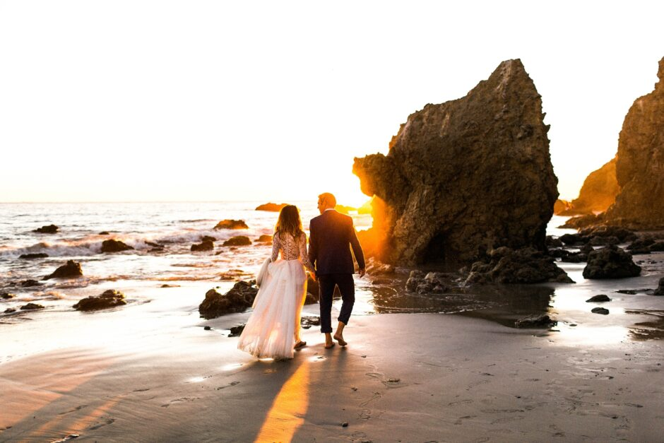 malibu wedding photographer in california