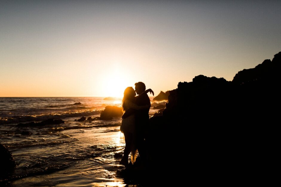 Malibu wedding photography with Sarah Falugo at El Matador Beach