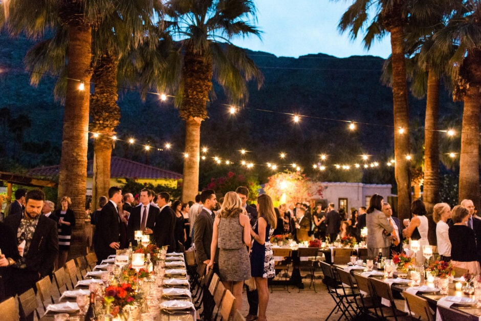 Palm Springs wedding at Korakia Pensione with Sarah Falugo Los Angeles Wedding Photographer