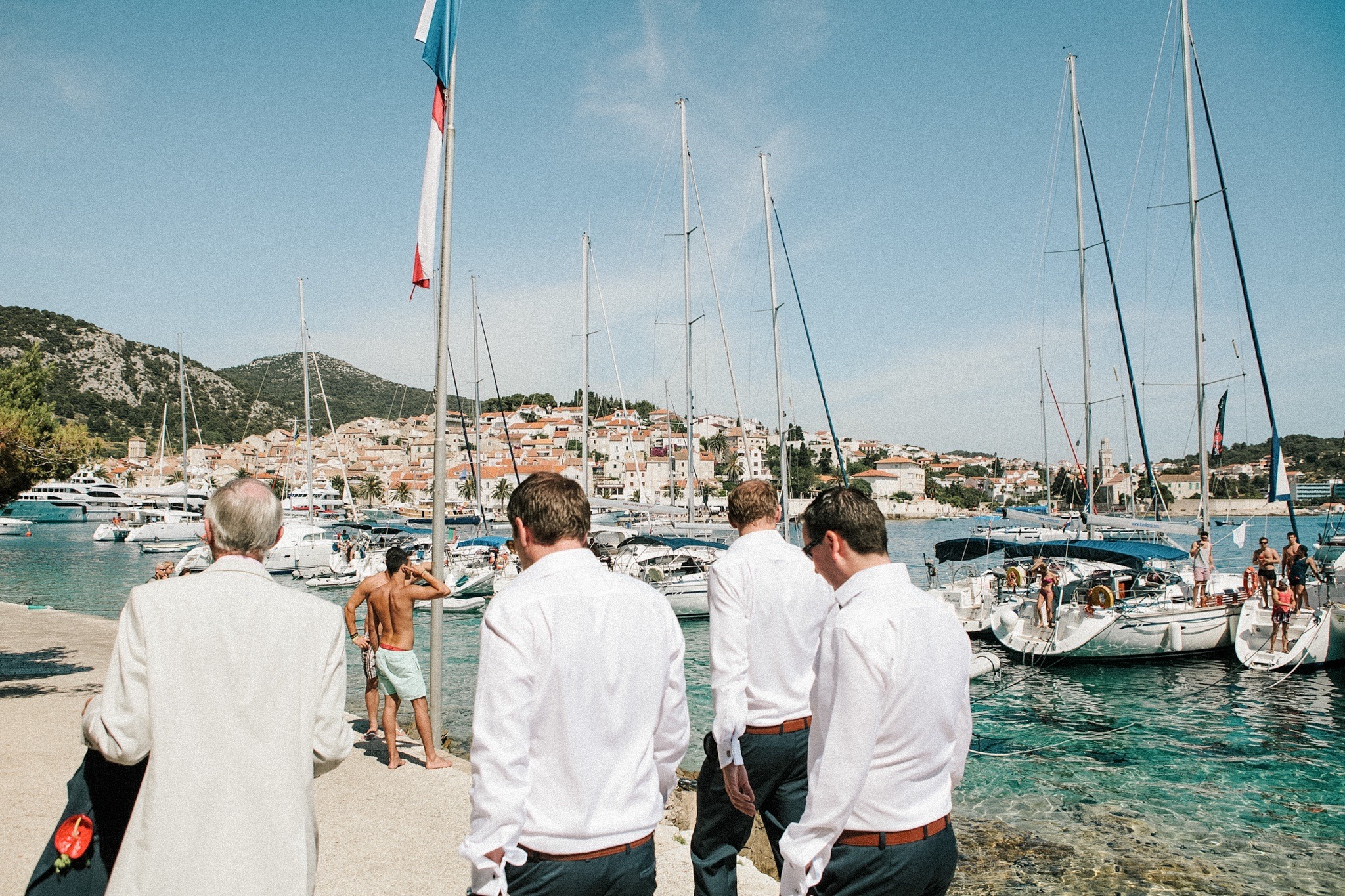 destination wedding in Croatia with Sarah Falugo